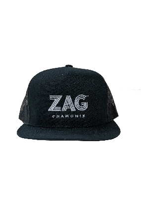 flat cap ZAG black