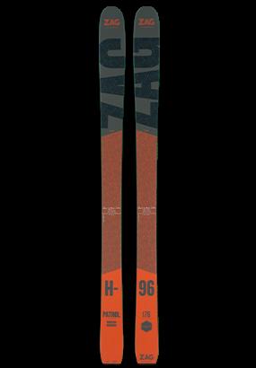 Ski tout terrain ZAG H-96 edition PATROL