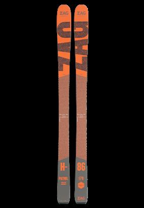 Skis zag tout terrain