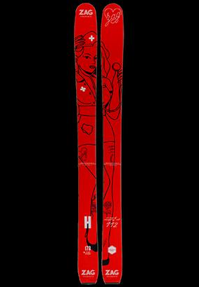 ZAG H-106 Edition Limitée infirmière rouge