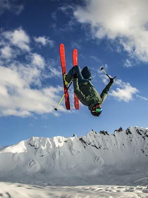 India: ski touring mission on Tharang