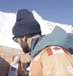 Backstage video - Wadeck Gorak FWT Golden Canada