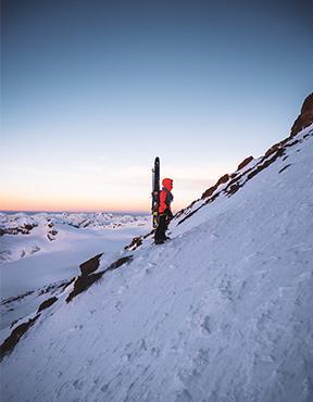 Ski touring trip in Georgia