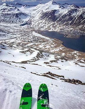 """Discovering ski touring in Iceland with """"On est pas que des collants"""""""