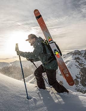 New SLAP Line: Freeride & Freetouring skis