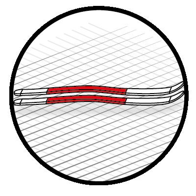 Cambre modéré